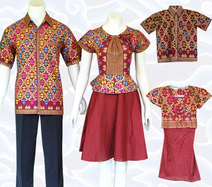 Baju Batik Anak Muslim: Model Baju Batik Couple Pasangan Dan Keluarga Masa Kini