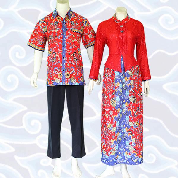 Model Baju Batik Couple Pasangan Dan Keluarga Masa Kini