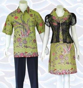 model baju batik couple pasangan dan keluarga